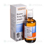 Picture of BRONTEX, 15 mg/5 ml, sirupas, 100 ml