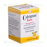 Picture of CALCIGRAN FORTE, 500 mg/400 TV, kramtomosios tabletės, N60
