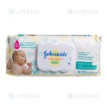 Picture of JOHNSON'S BABY COTTON TOUCH, drėgnos servetėlės su dozatoriumi, 56 vnt.