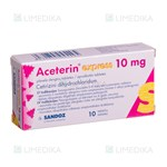 Picture of ACETERIN EXPRESS, 10 mg, plėvele dengtos tabletės, N10