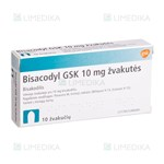 Picture of BISACODYL GSK, 10 mg, žvakutės, N10