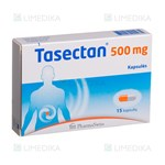 Picture of PHARMASWISS TASECTAN, 500 mg, 15 kapsulių
