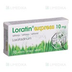 Picture of LORATIN EXPRESS, 10 mg, tabletės, N10