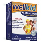 Picture of WELLKID, 30 kramtomųjų tablečių