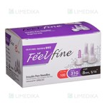 Picture of FEELFINE PEN, insulino adatos, 8 mm, 31G, 100 vnt.