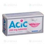 Picture of ACIC, 200 mg, tabletės, N25