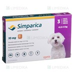 Picture of SIMPARICA 10mg 2.5-5kg N3 (Zoetis)
