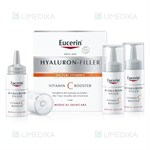 Picture of EUCERIN HYALURON - FILLER, vitamino C serumas, 3 vnt. x 8 ml