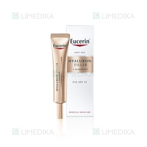 Picture of EUCERIN HYALURON - FILLER + ELASTICITY, akių srities kremas, SPF15, 15 ml