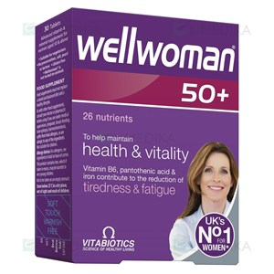 Picture of WELLWOMAN 50+, 30 tablečių