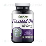 Picture of LIFEPLAN FLAXSEED OIL, 90 kapsulių