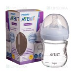 "Picture of PHILIPS AVENT, buteliukas stiklinis ""Natural"", SCF051/17, 120 ml"