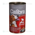 Picture of CALIBRA PREMIUM Dog Can, Adult with Beef, Liver and Vegetables in Jelly, 1240 g