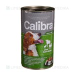 Picture of CALIBRA PREMIUM Dog Can, Adult with Lamb, Beef and Chicken in Jelly, 1240 g