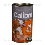 Picture of CALIBRA PREMIUM Dog Can, Adult with Turkey, Chicken and Pasta in Jelly, 1240 g