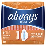 Picture of ALWAYS ULTRA NORMAL PLUS, higieniniai paketai, 10 vnt.