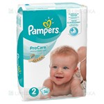Picture of PAMPERS PRO CARE, 2 dydis, sauskelnės, 36 vnt.