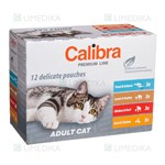 Picture of CALIBRA POUCH Cat (Premium Line), Adult Multipack, 12x100 g