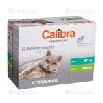 Picture of CALIBRA POUCH Cat (Premium Line), Sterilised Multipack, 12x100 g