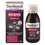 Picture of SAMBUCOL BLACK ELDERBERRY FOR KIDS, sirupas vaikams su juoduogiu šeivamedžiu, 120 ml