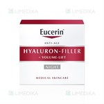 Picture of EUCERIN HYALURON - FILLER + VOLUME - LIFT, naktinis kremas, 50 ml