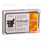 Picture of PHARMA NORD D-PEARLS 3200, 80 kapsulių