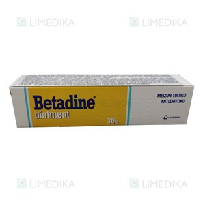Picture of BETADINE, 100 mg/g, tepalas, (l.imp.), 30 g