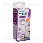 "Picture of PHILIPS AVENT, buteliukas ""Natural"" HIPPO, SCF070/22, 260 ml"