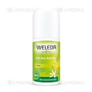Picture of WELEDA CITRUS, 24 val. rutulinis dezodorantas, 50 ml
