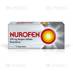 Picture of NUROFEN, 200 mg, dengtos tabletės, N12