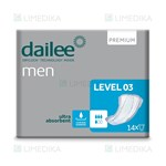 Picture of DAILEE MEN įklotai PREMIUM LEVEL 3, 14 vnt.