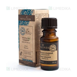 Picture of BOTAVIKOS, apelsinų 100% eterinis aliejus, 10 ml