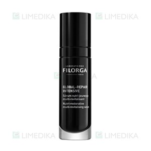 Picture of FILORGA GLOBAL-REPAIR INTENSIVE, globalaus poveikio regeneruojantis veido serumas, 30 ml