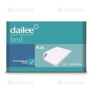 Picture of DAILEE BED PLUS, paklotai, 60 x 60 cm, 25 vnt.