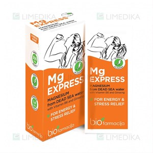Picture of MG EXPRESS, milteliai, 2,7 g, 14 vnt.