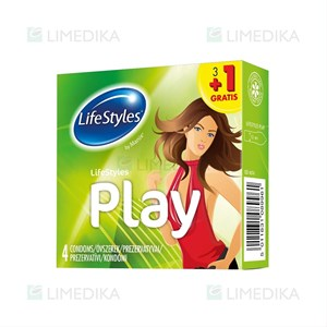 Picture of LIFESTYLES PLAY 3+1, prezervatyvai, 4 vnt.